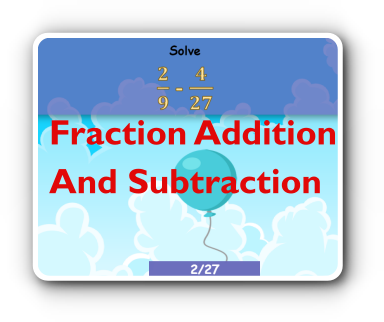 add fraction game thumbnail