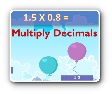 decimal multiplication game thumbnail