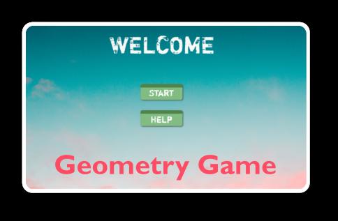 Geometry Game Grade 1