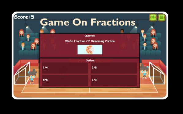 Fraction Math Is Fun