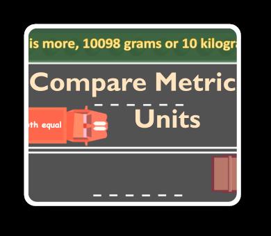 metric untis comparison