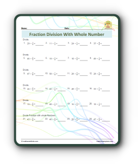 How To Do Fraction Division