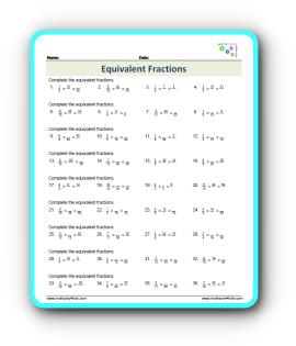 How Equivalent fractions